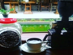 Kuliner Kopi Lampung Asli Ndalem Limasan Solo